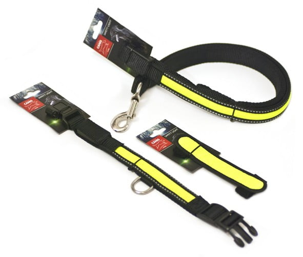 LED-halsband, Active Canis, 31-51 cm