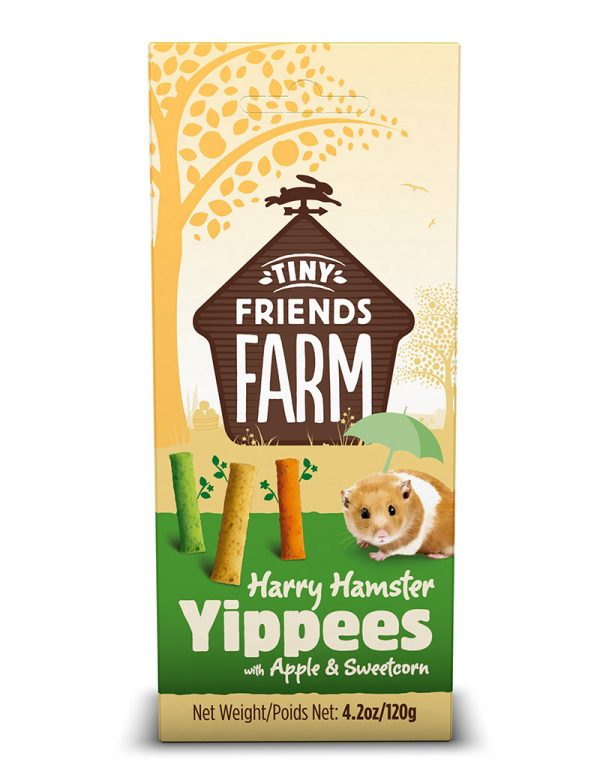 Hamster Yippees, Tiny Friends Farm, 120 g